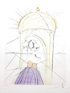 Salvador Dali - The Museum of Genius - Original Signed Engraving