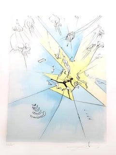 Salvador Dali - The Grand Inquisitor - Original Signed Engraving