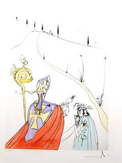 Salvador Dali - The Sacred Love of Gala - Original Signed Engraving