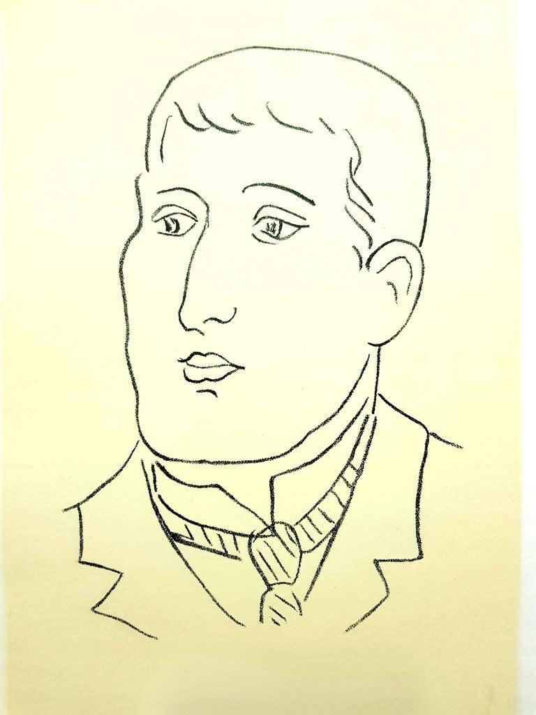 Original Lithograph - Henri Matisse - Apollinaire