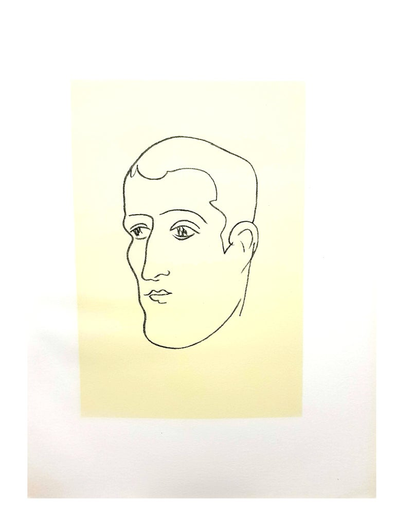 Original Lithograph - Henri Matisse - Apollinaire Artist : Henri MATISSE 13 x 10 inches Edition: 151/330 References : Duthuit-Matisse Catalogue raisonné 31  MATISSE'S BIOGRAPHY  YOUTH AND EARLY EDUCATION  Henri Emile Benoît Matisse was born in a