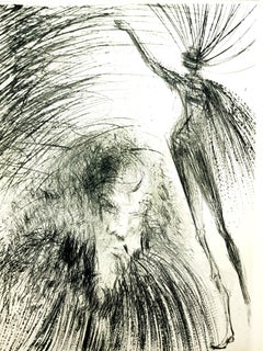 Salvador Dali - Old Faust - Original Etching