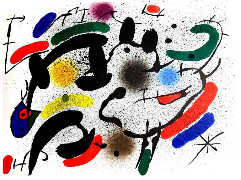 Joan Miro - Original Abstract Lithograph
