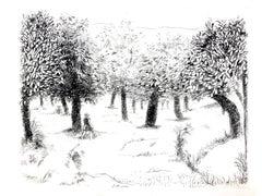 Robert Lotiron - Landscape - Original Etching