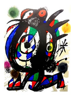 Joan Miro - Original Abstract Lithograph