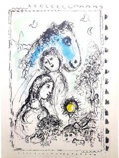 Marc Chagall - Couple - Original Lithograph