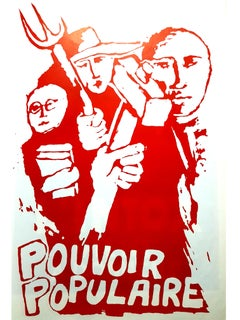 Mai 68 Original French Poster - Power to the People - Mai 68