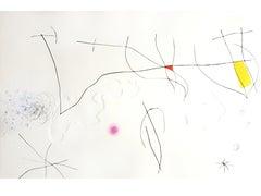 Joan Miro -  L'Issue Dérobée - Original Aquatint