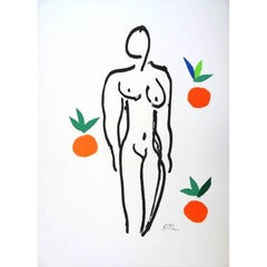 After Henri Matisse - Nude With Oranges