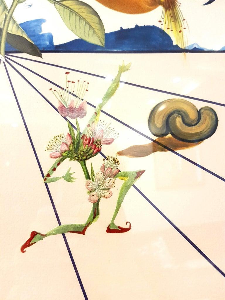 Salvador Dali - Flordali I - Lithograph For Sale 3
