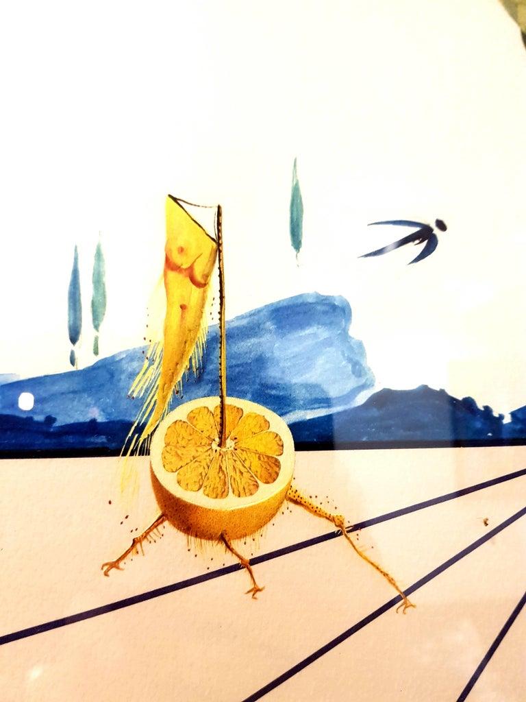 Salvador Dali - Flordali I - Lithograph For Sale 4