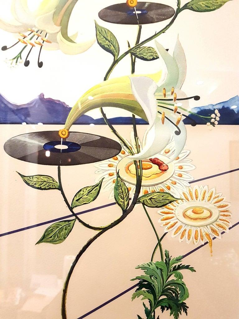 Salvador Dali - Flordali I - Lithograph For Sale 5
