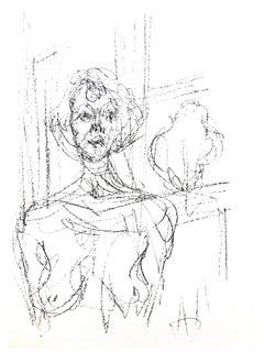 Alberto Giacometti - Composition - Original Lithograph