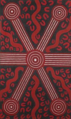 Sandy Hunter Petyarre - Aboriginal Art Painting