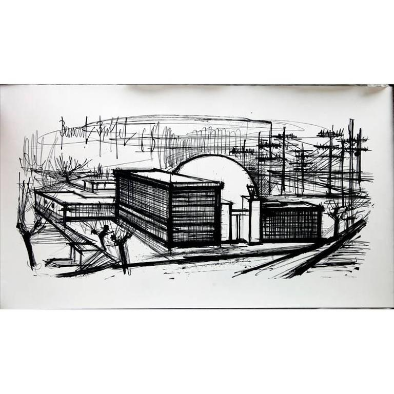 Bernard Buffet - Bernard Buffet - Series of 6 Rare Lithographs ...