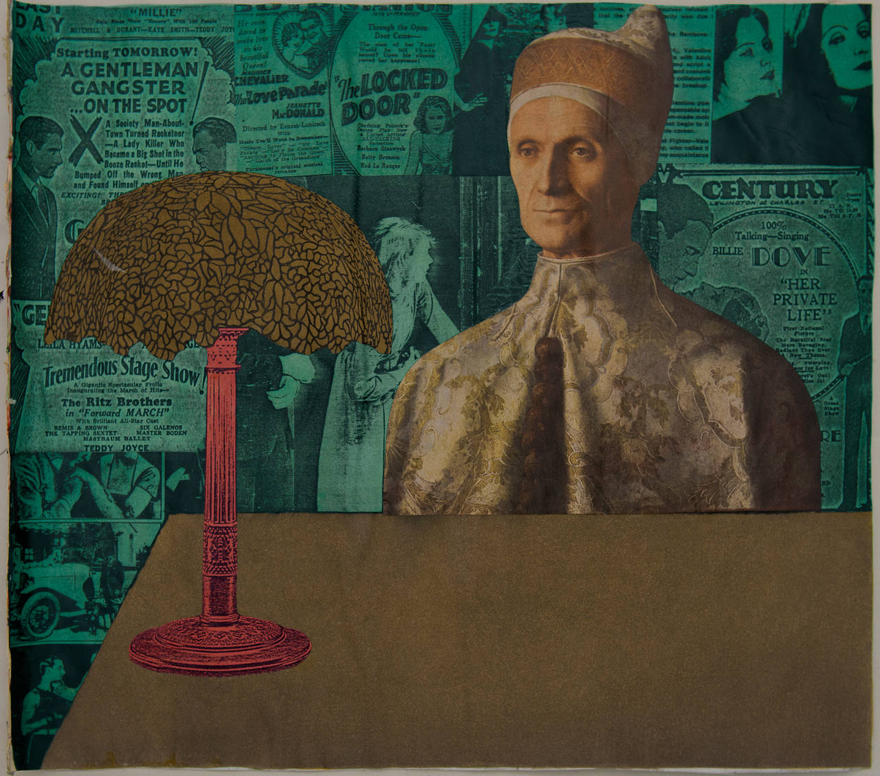 Untitled (Bellini Doge & Tiffany Lamp)