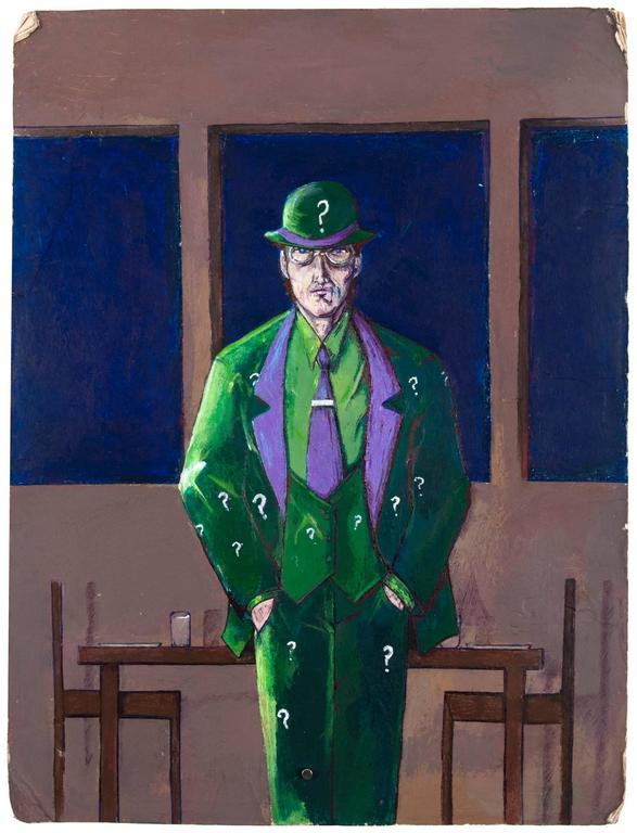 Untitled (Joker at Table)