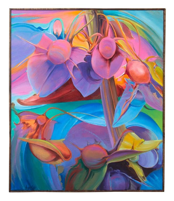 Richard Lytle Landscape Painting - Critical Mass