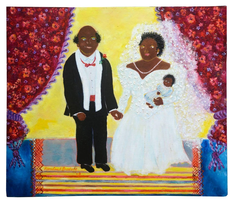 Untitled (Bride and Groom with daughter)