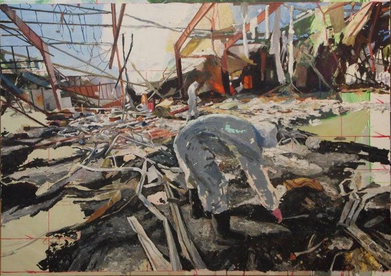 John Keefer Landscape Painting - In Sanaa