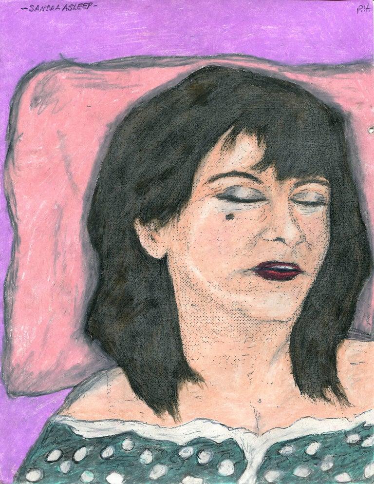 Sandra Asleep