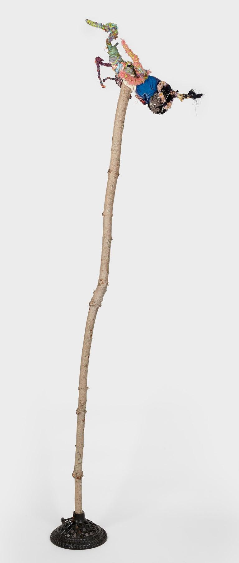 Slim - Sculpture by Jane Miller