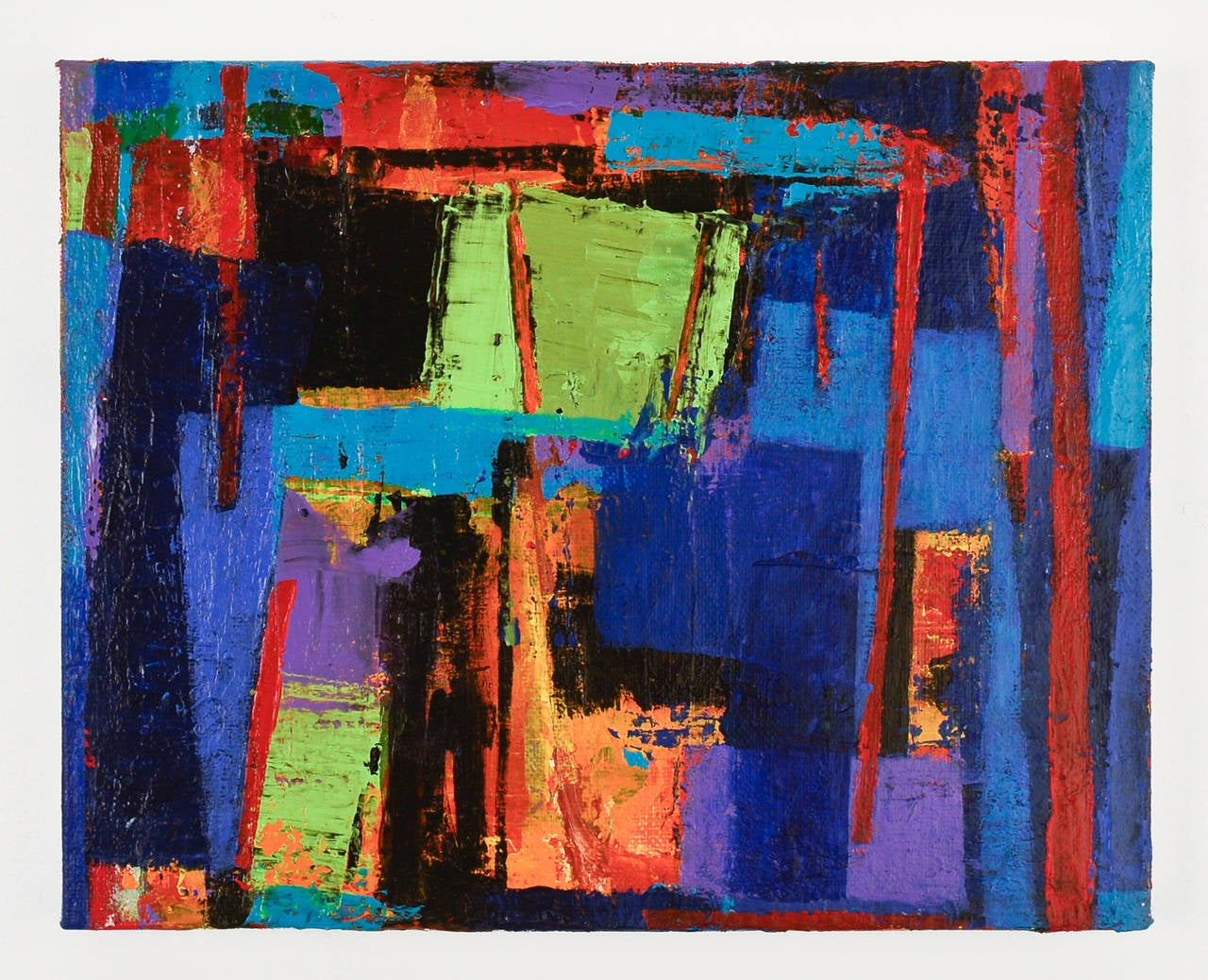 peter ramon cool blue painting for sale at 1stdibs