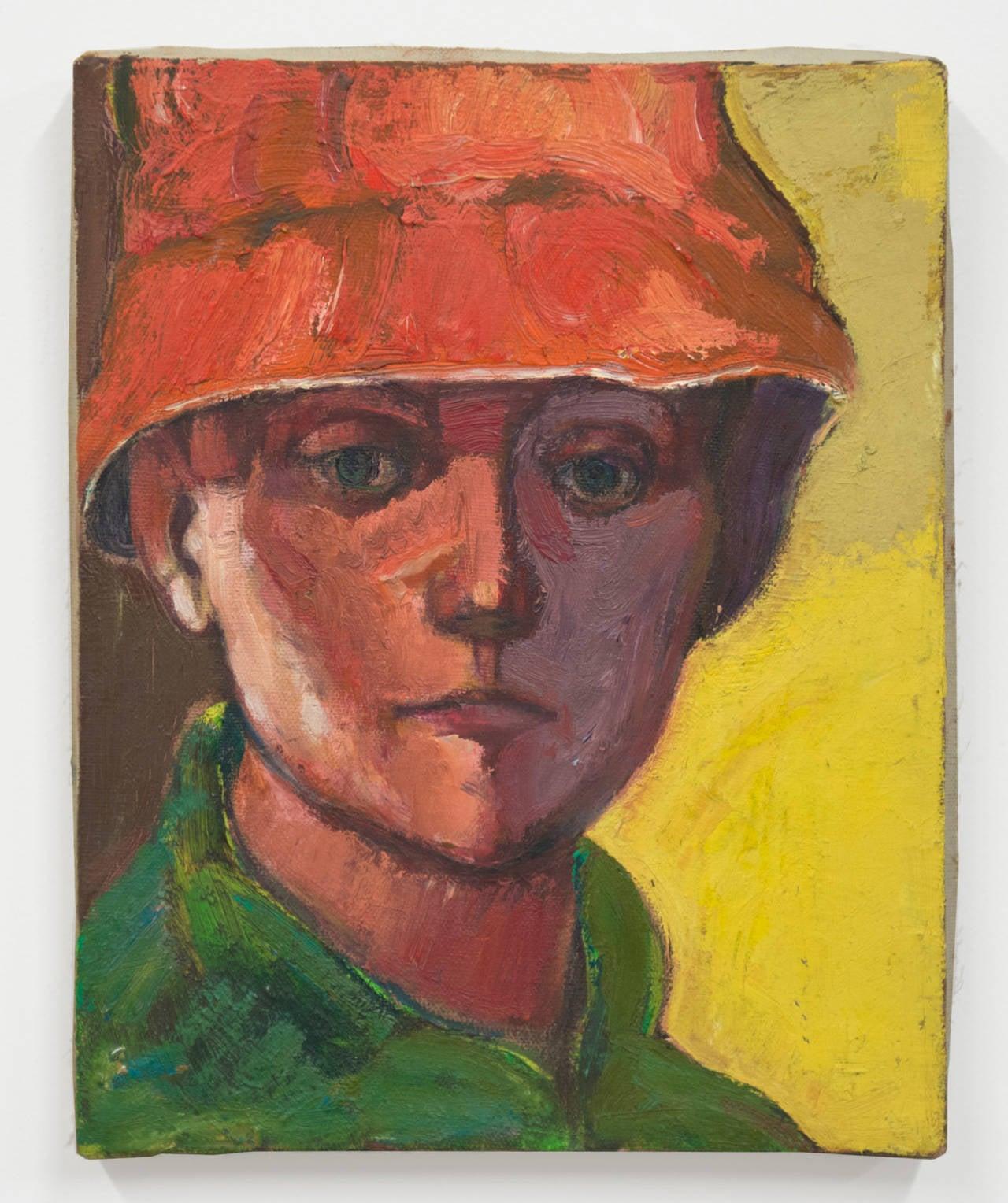 Bernard Chaet Portrait Painting - N