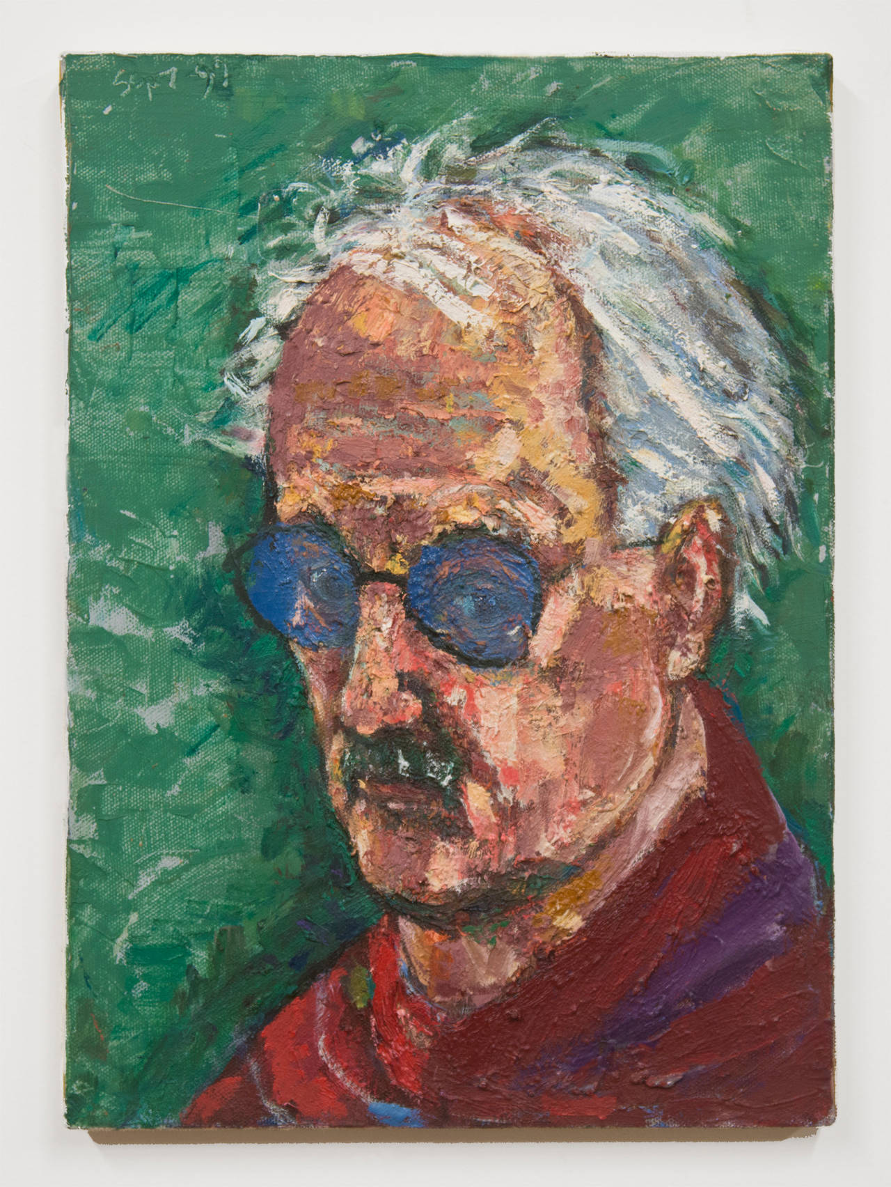 Self Portrait with Glasses