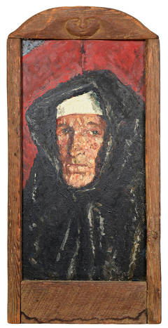 Nun-Self Portrait