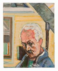 Self-Portrait in Studio