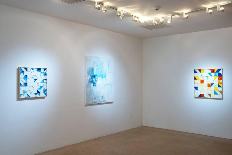 Emilia Dubicki is represented by Fred Giampietro Gallery, New Haven, Ct My paintings are mostly abstract, but sometimes there are subtle, identifiable references to places or objects. The paintings are compilations of memories, emotions and visuals.