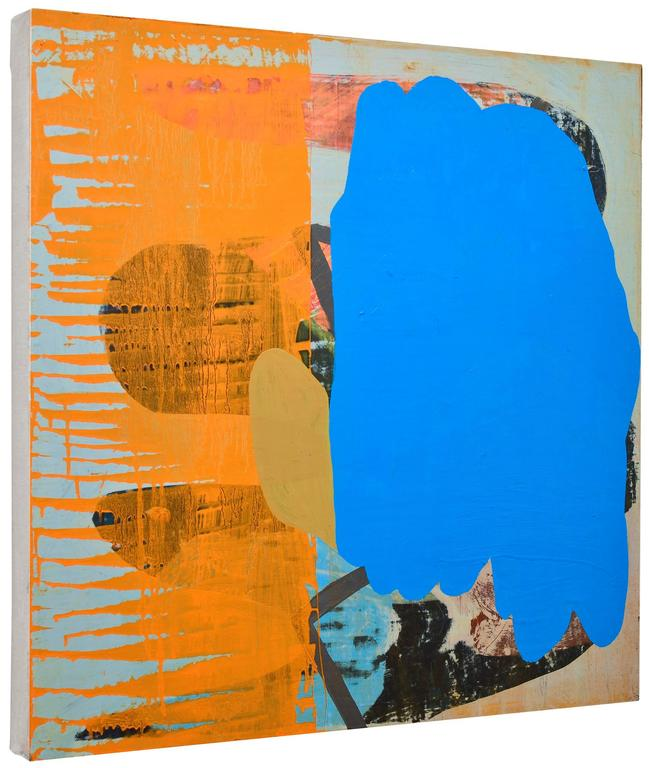 Becky Yazdan Two Faced Painting For Sale At 1stdibs