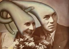 Untitled (Couple with Tentacle Heads)