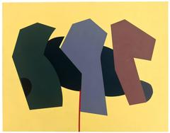 Untitled (Yellow with Three)