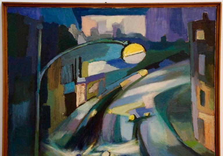 Landscape - Painting by George Dergalis