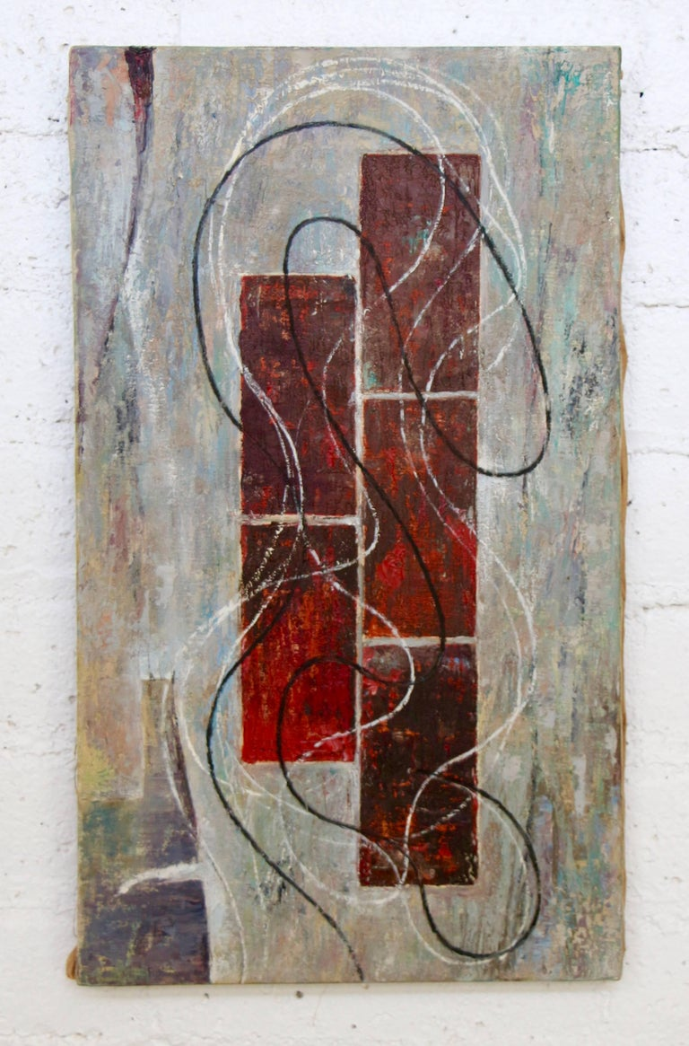 Unknown Abstract Painting - Untitled