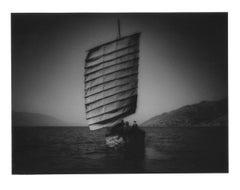 Bai junk on Lake Erhai, Yunnan Provence, Landscape, China