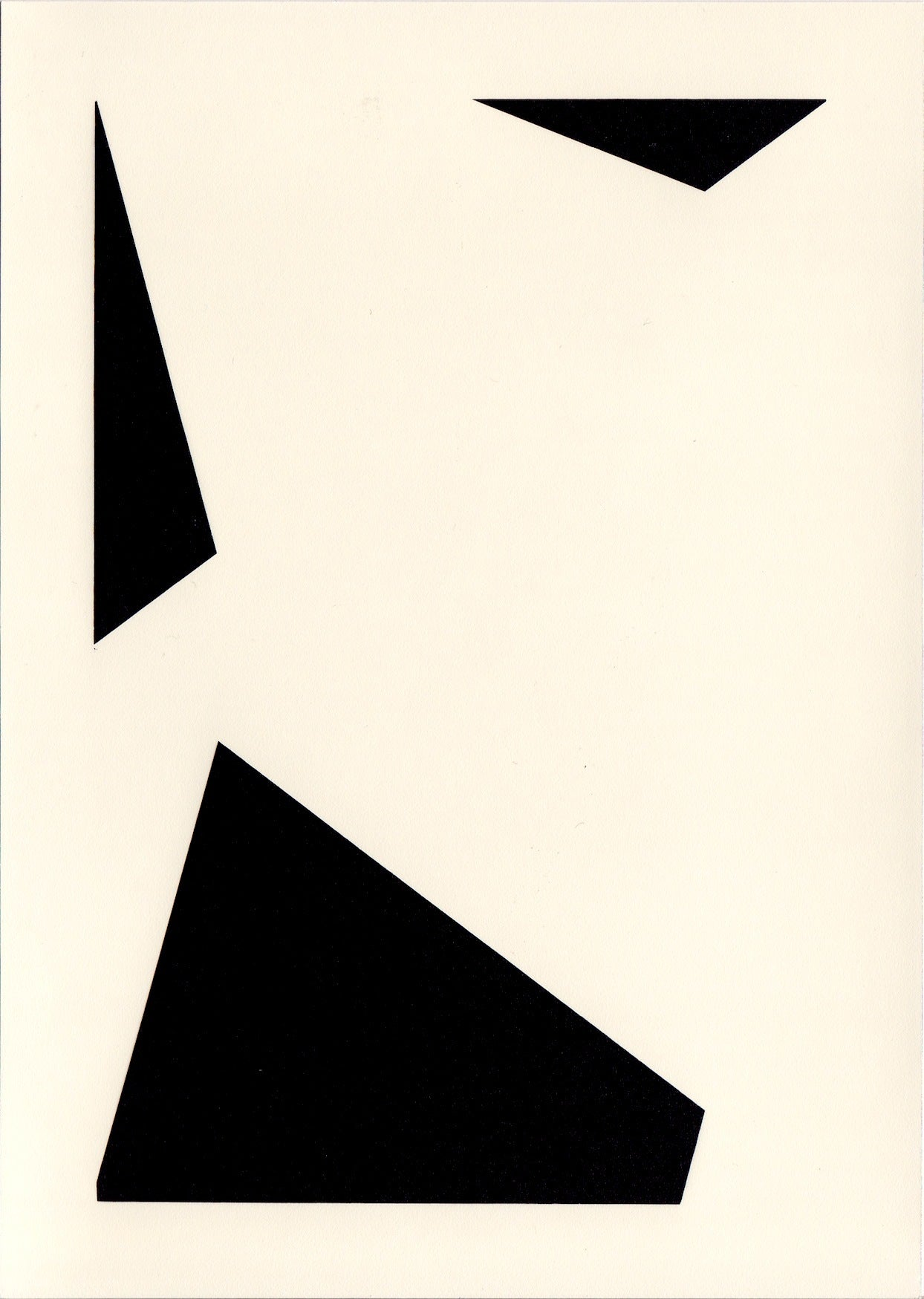 Richard Caldicott Black and White Photograph - Unique Photogram (14)