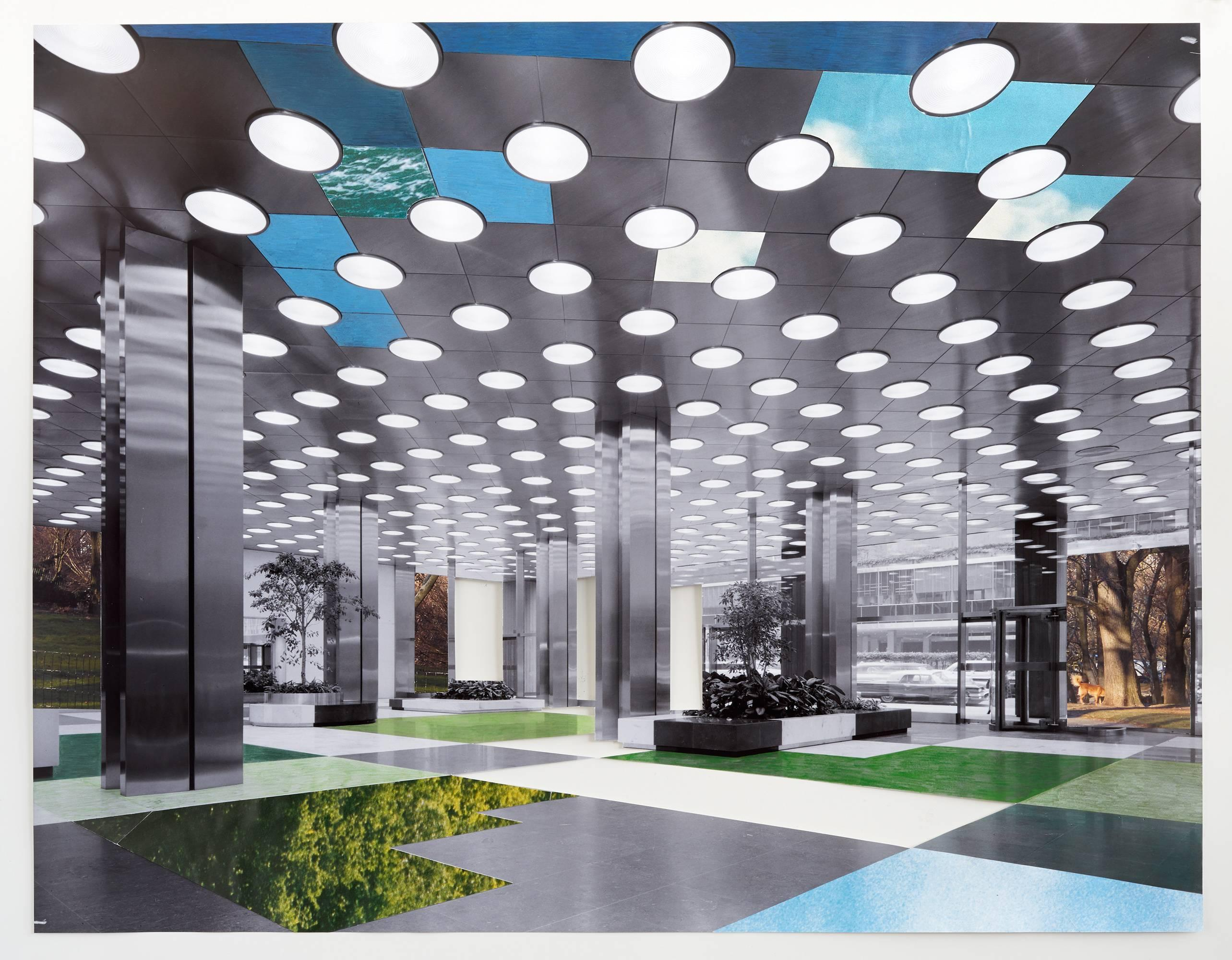 Lobby II, 2016, Park Ave, New York City,  Source image 1961