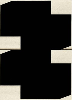 Abstract photography, geometry, black with white, Untitled #11
