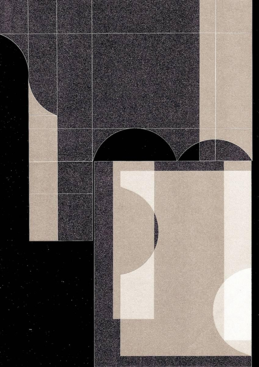Abstract photography, shape and color, black, geometry, Untitled (4)