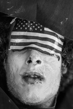 Anti-Vietnam War protestor, Miami, FL, August 23rd, 1972
