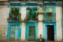 Facade with Blue, Havana