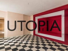 Photograph, Utopia,  Red, Architecture, Construction,