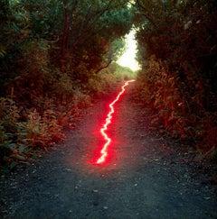 landscape, Red Line