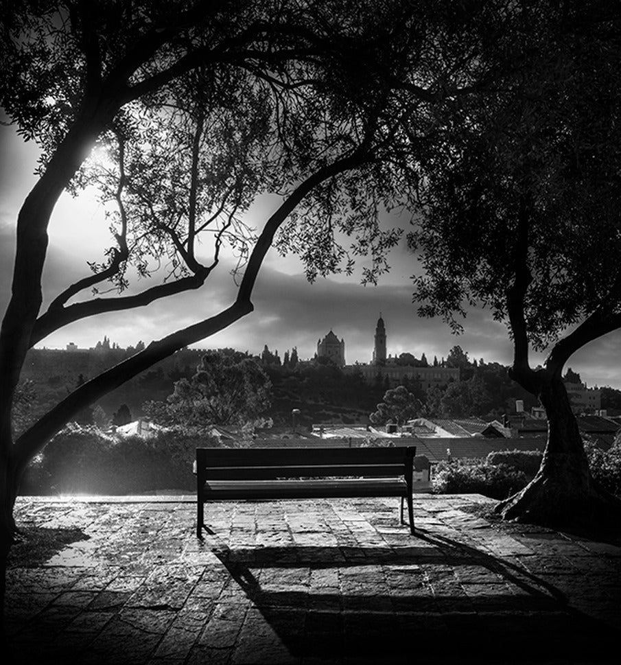 Park Bench in the Yemin Moshe Quarter