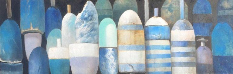 Michel Brosseau Still-Life Painting - Morning Blues