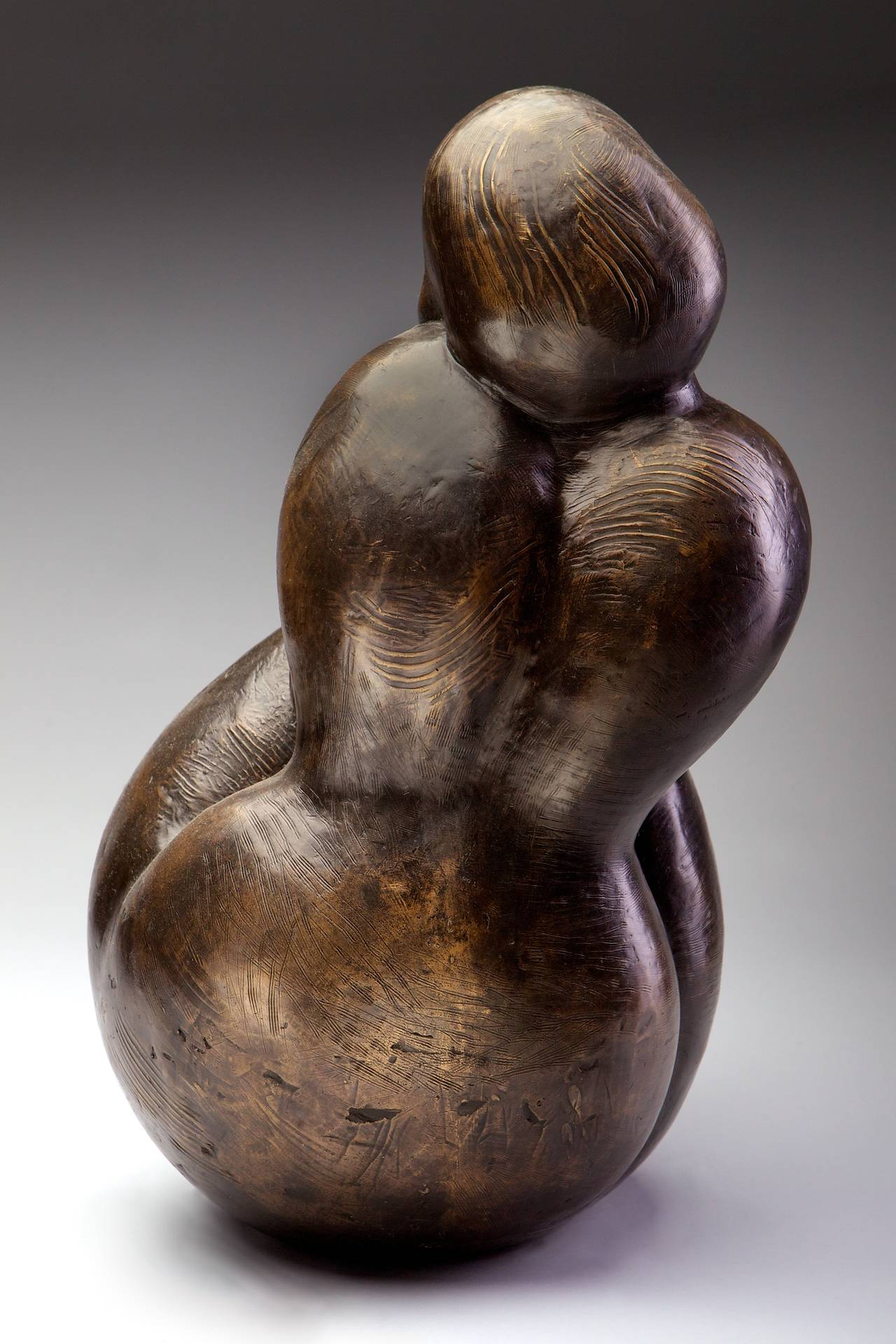 Wiggle My Toes - Modern Sculpture by Monica Wyatt