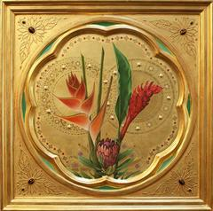Sienese Icon Tropical Flowers